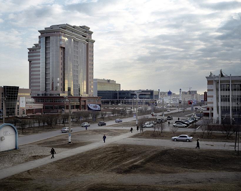 KAZAKHSTAN AtyrauMain street